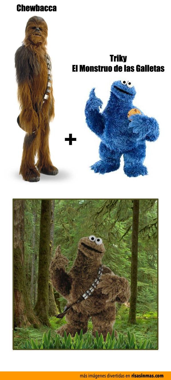 Chewbacca + Triky