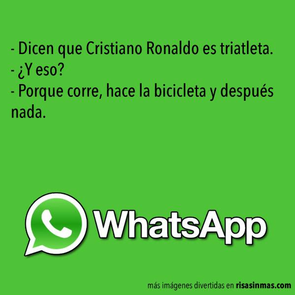 Chistes WhatsApp: Cristiano Ronaldo