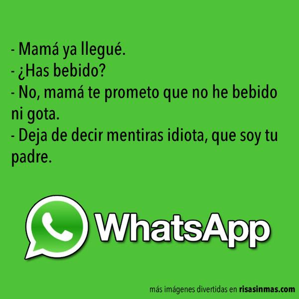 Chistes de WhatsApp: Borrachos