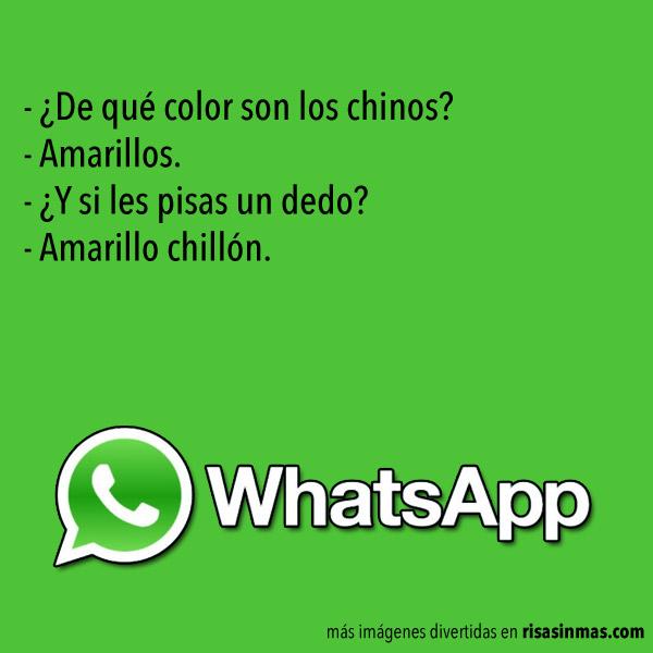 Chistes de WhatsApp: Chinos