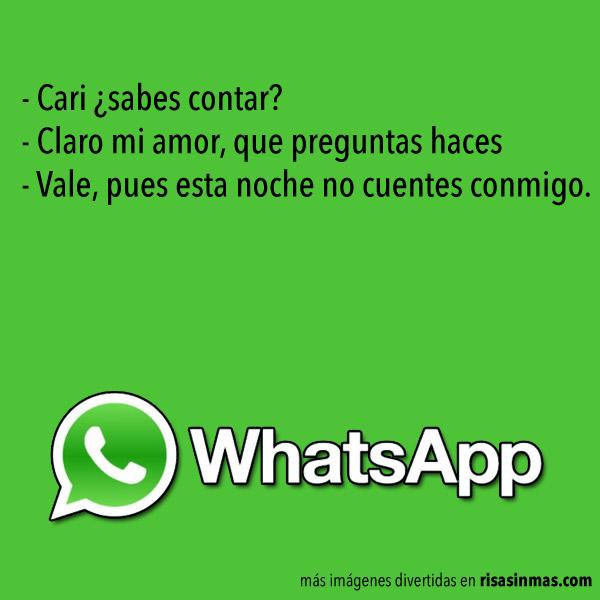 Chistes de WhatsApp: Cosas de parejas