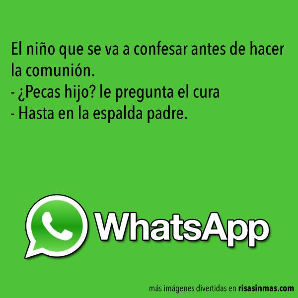 Chistes de WhatsApp: Curas