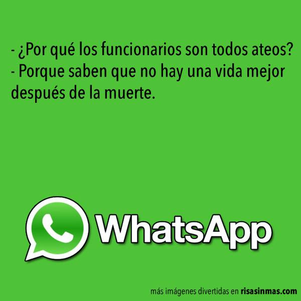 Chistes de WhatsApp: Funcionarios