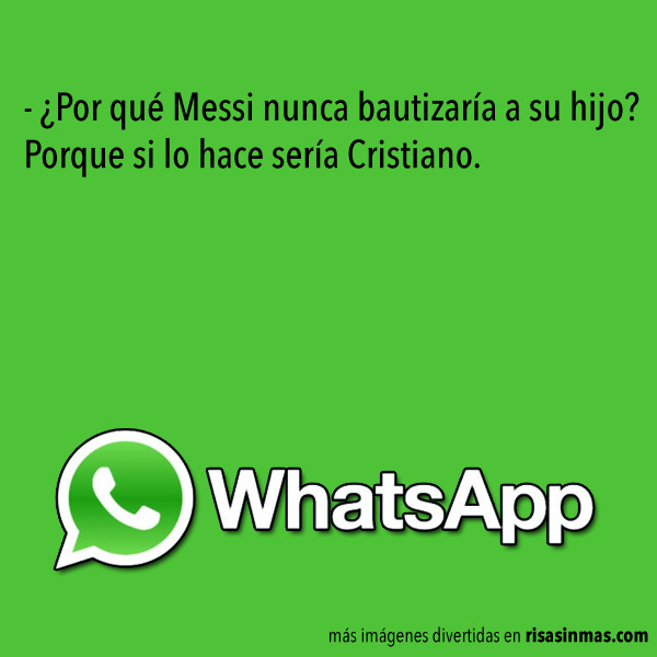 Chistes de WhatsApp: Messi