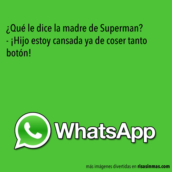 Chistes de WhatsApp: Superman