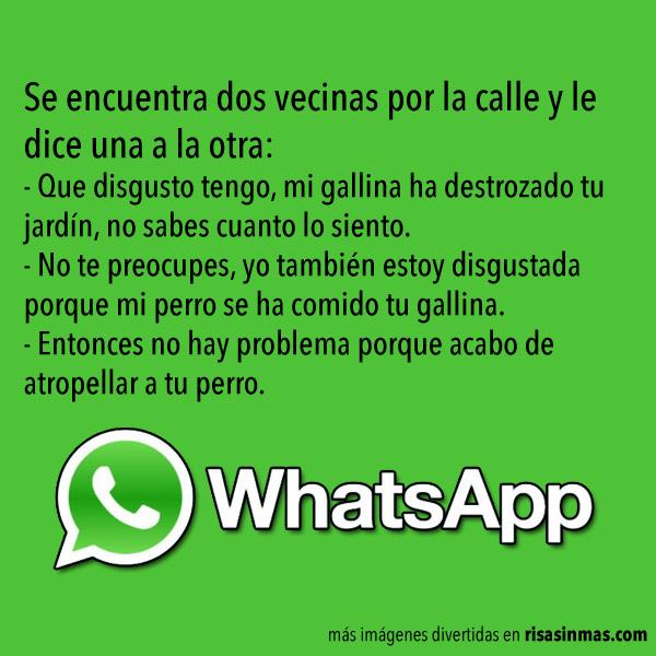 Chistes de WhatsApp: Vecinas