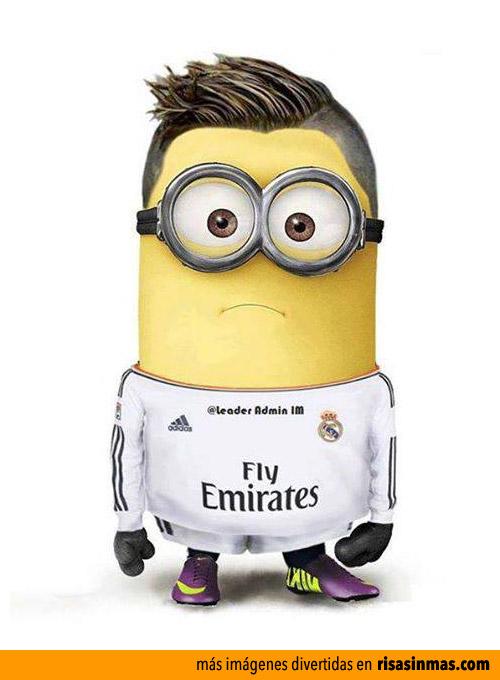 Cristiano Ronaldo como un Minion
