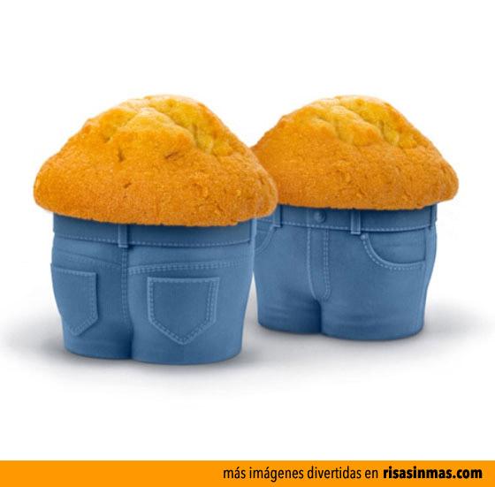 Cupcakes con pantalones