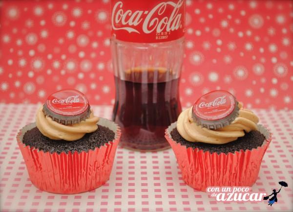 Cupcakes originales: Coca-Cola