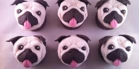Cupcakes originales: Pugs