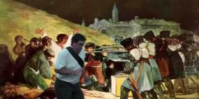 El arruina fotos en los fusilamientos del 3 de mayo de Goya