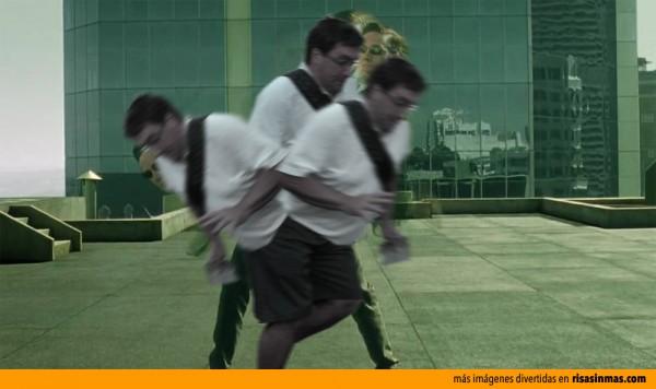 El arruina fotos también aparece en Matrix