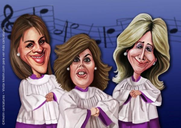 El coro celestial