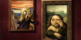 El grito y La Mona Lisa