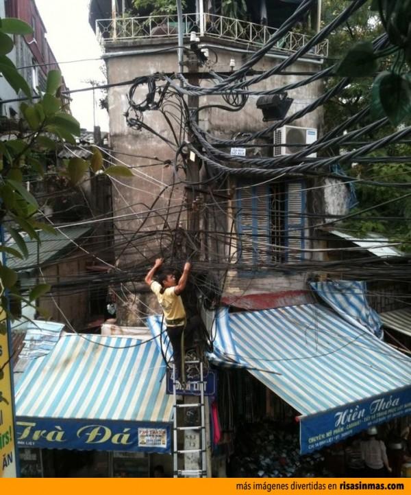 Electricista con un pequeño problema ¿O no?