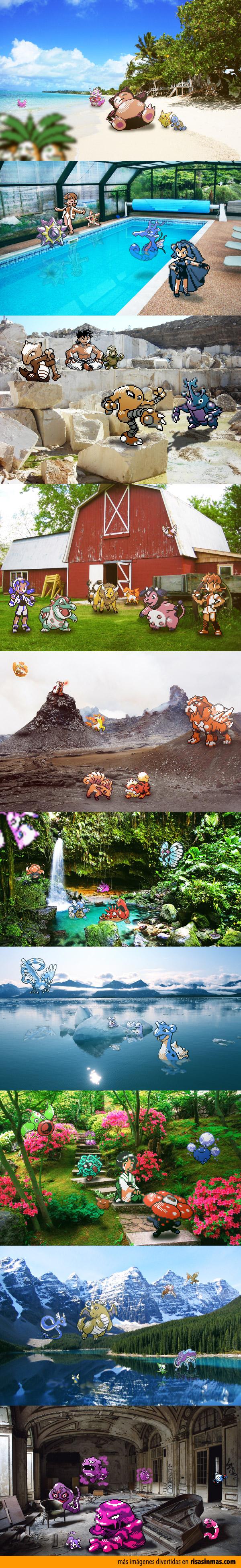 Fotografías de Pokemons