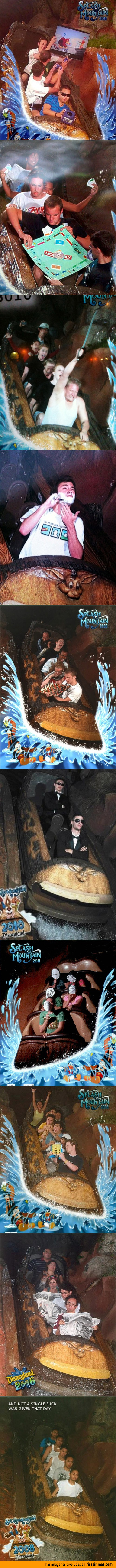 Fotos graciosas de Splash Mountain en Disneyland