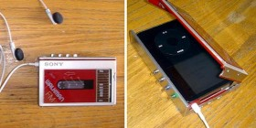 Funda retro Walkman iPod