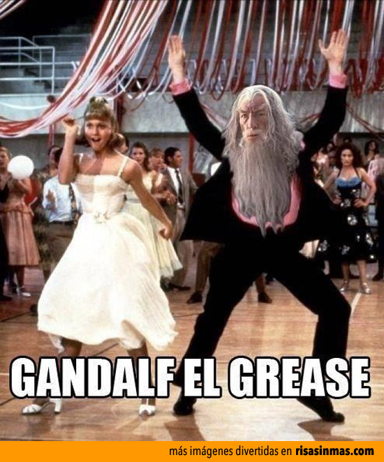 Gandalf el Grease