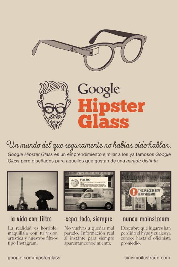 Google hipster glass