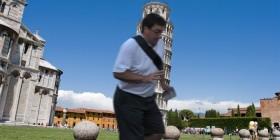 La típica foto de la Torre de Pisa y...