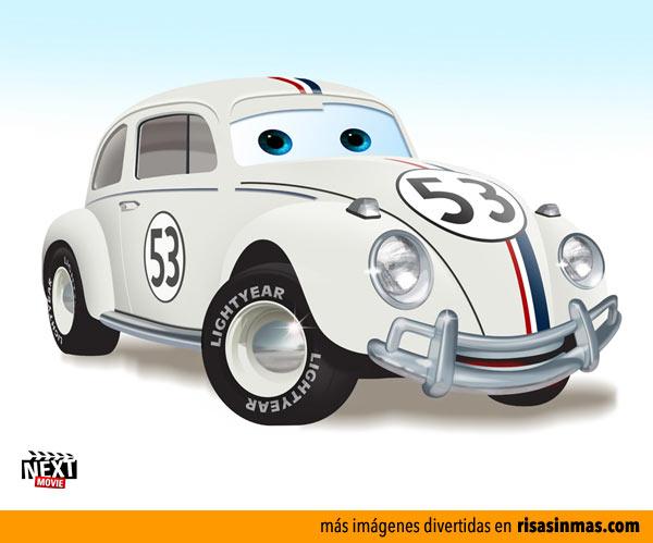Herbie versión Cars