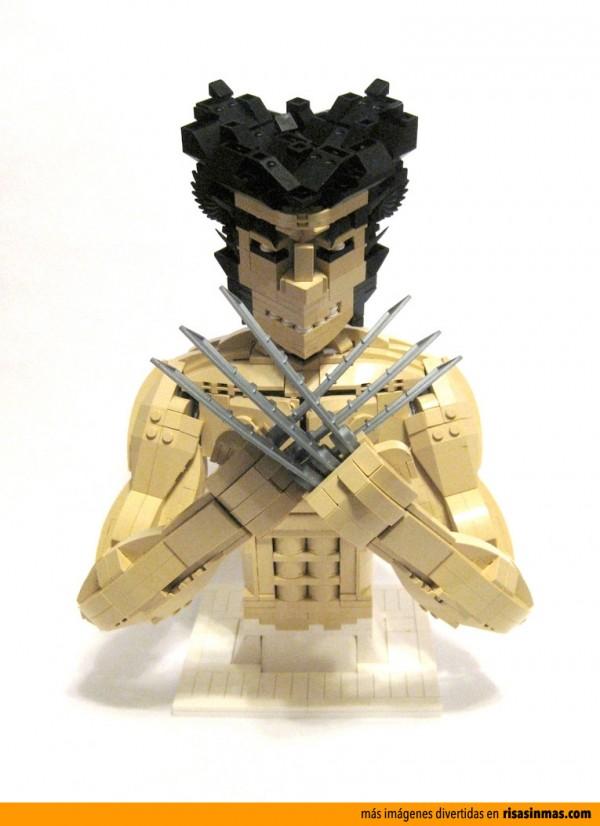 Lobezno inmortal versión LEGO