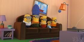 Los Simpson como Minions