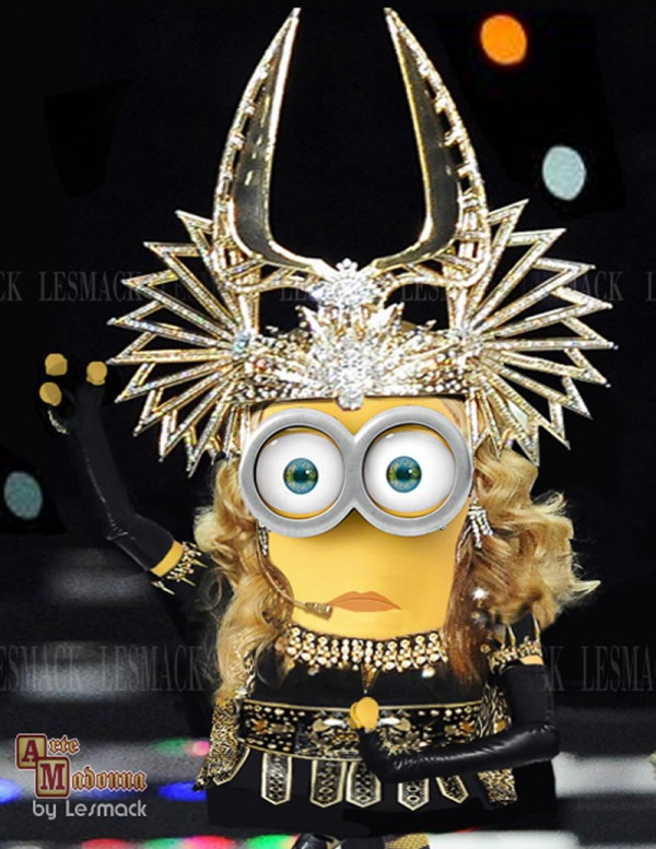 Madonna Minion - Super Bowl 2012