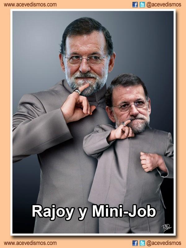 Mariano Rajoy y Mini-Job