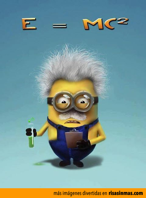 Minion Albert Einstein