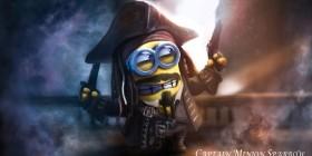 Minion Capitán Jack Sparrow