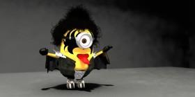 Minion Gene Simmons del grupo Kiss
