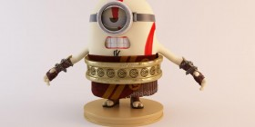 Minion Kratos de God of War