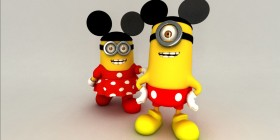 Minion Mouse y Minien Mouse