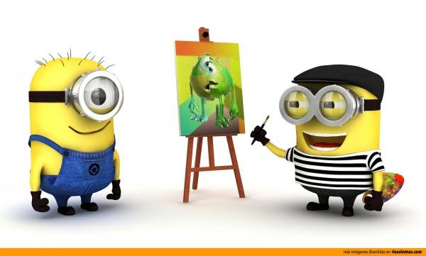 Minion Picasso