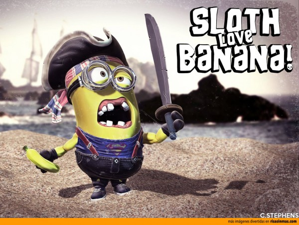 Minion Sloth (Los Goonies)