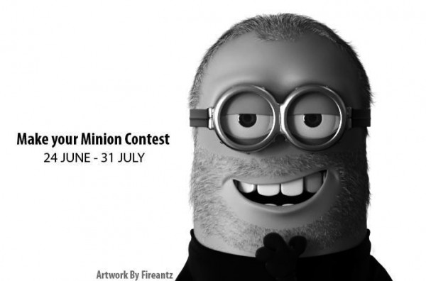 Minion Steve Jobs (Retrato)