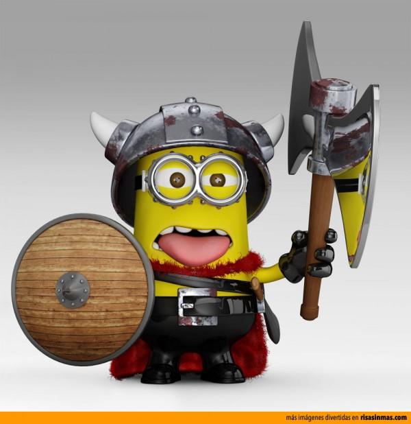 Minion Vikingo