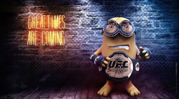Minion campeón de la UFC