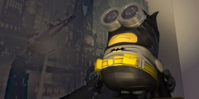 Minion como Batman