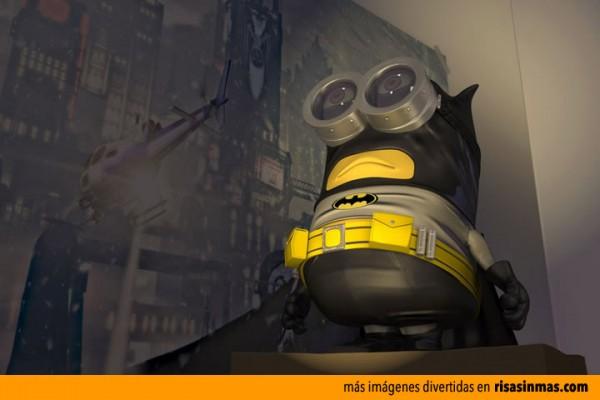 Minion como Batman