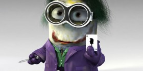Minion como Joker de Batman
