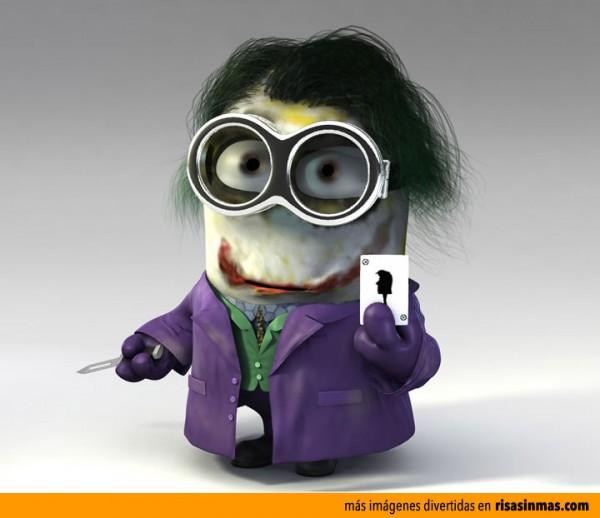 Minion como Joker de Batman