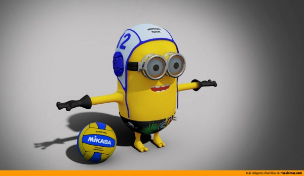 Minion waterpolo player