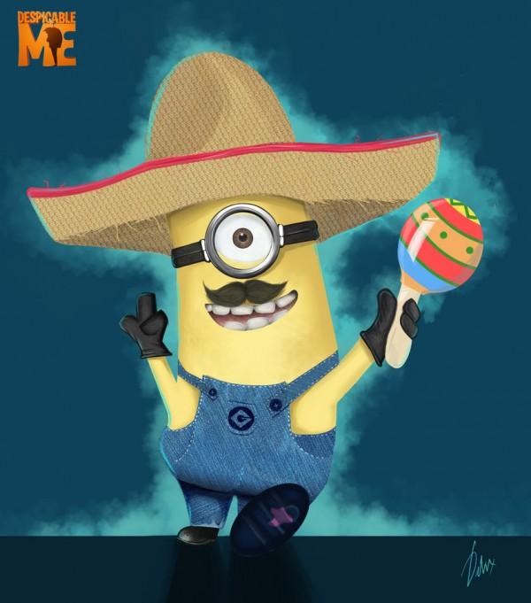 Minion mexicano