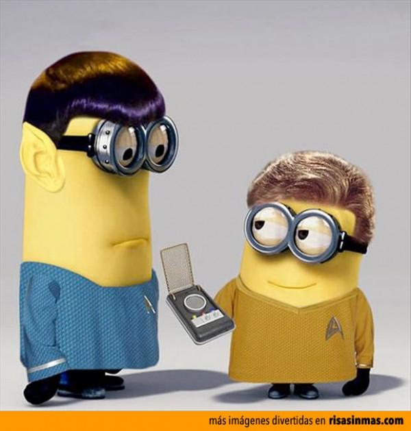 Minions Star Trek
