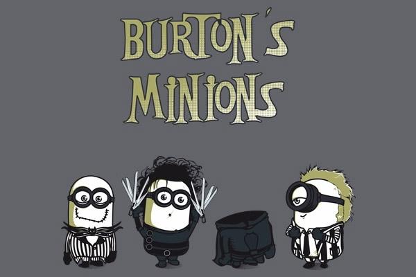 Minions de Tim Burton
