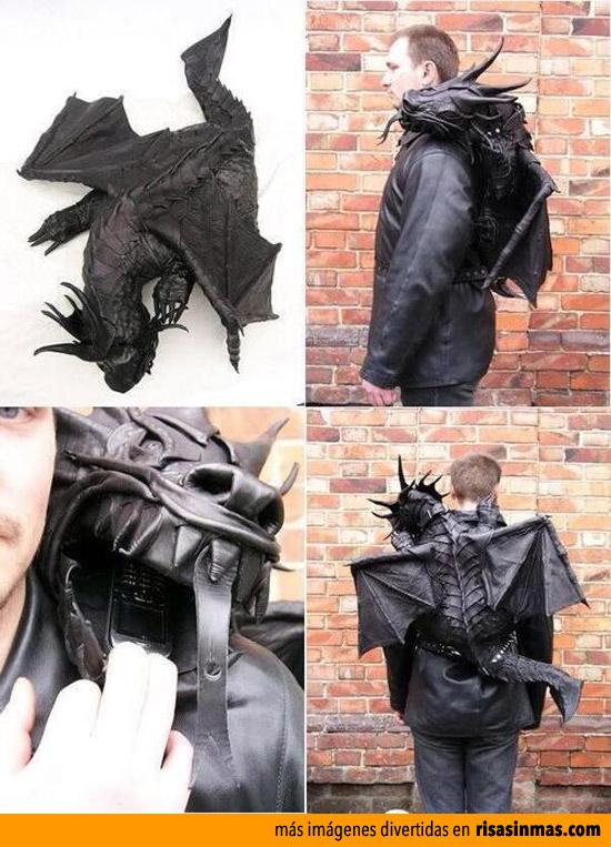 Mochilas originales: Dragón