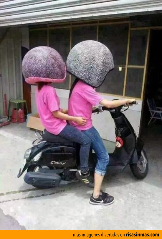 Nueva medida para los cascos de moto